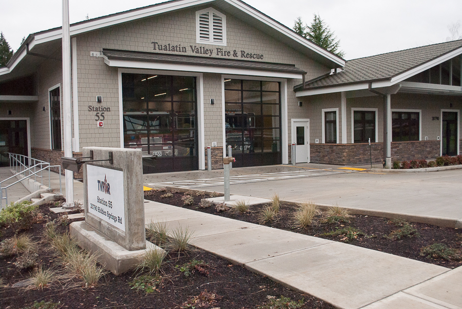 Tualatin Valley Fire and Rescue Station 55