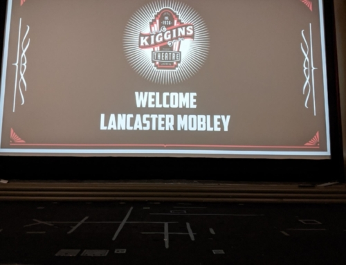 Lancaster Mobley at Kiggins Theatre