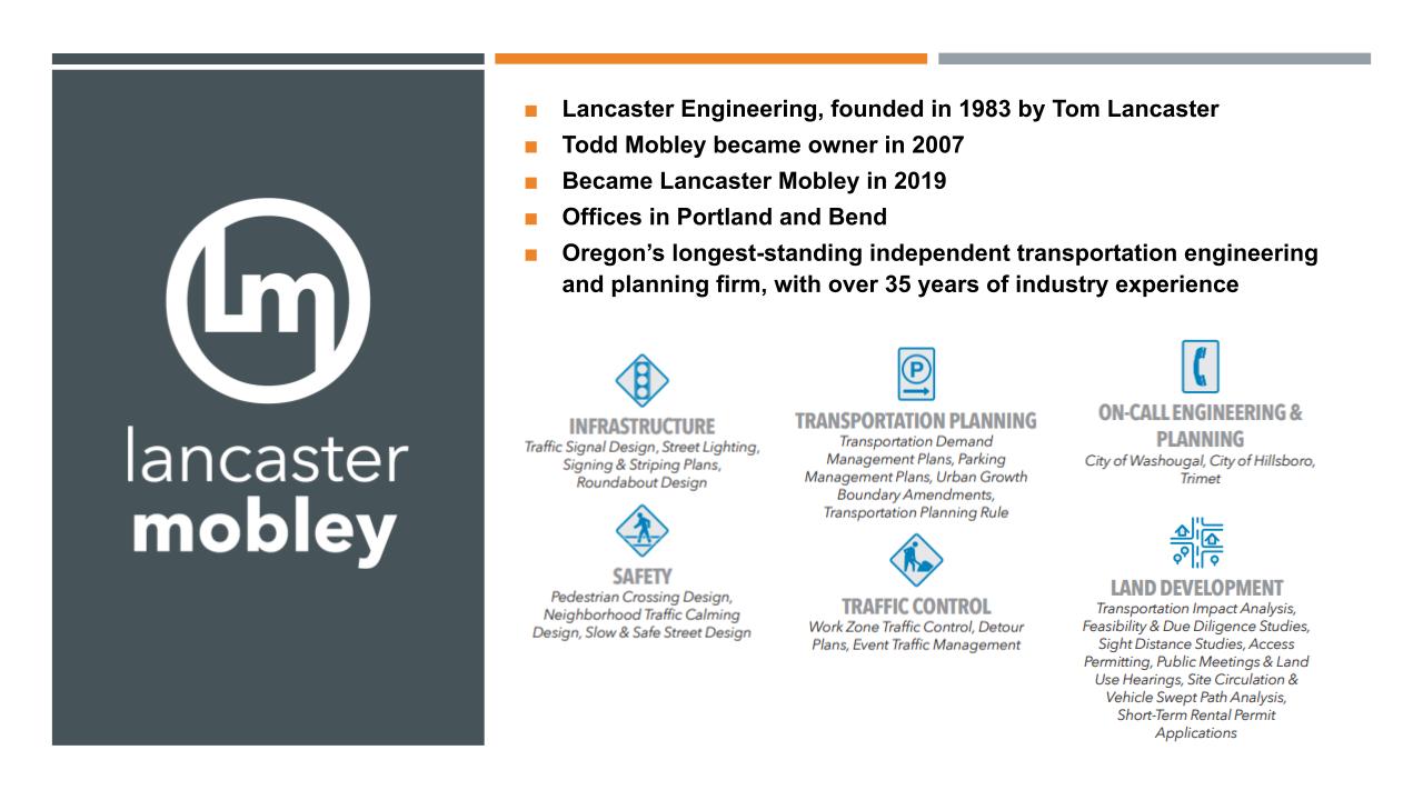 Beaverton Public Safety Center Lancaster Mobley